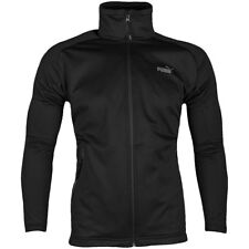 Puma Crew Wind-stopper Zip Up Jacket Black  Mens Size