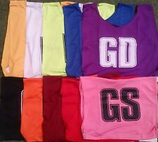 MESH NETBALL BIBS - MANY COLOURS