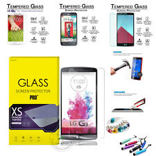 Hot Genuine Premium Tempered Glass LCD Screen Protector Film For LG SmartPhone