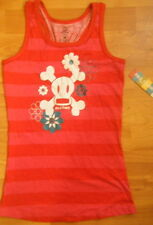 NWT Paul Frank Red Pink stripes tank top Brand new