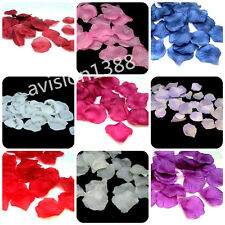 1000pcs Atificial Flower Silk Rose Petals Wedding Party Decorations UK