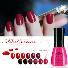 Perfect Summer Red Series Colors UV Gel Polish Manicure Art Nail Varnish 8 ml