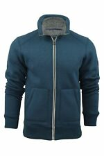 Bench Mens Zipped Heavy Hoodie Jumper/Jacket 'Kaufman' Long Sleeved