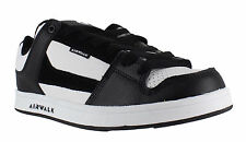 AirWalk Rocklow Mens Black/White Casual Skate Lace Up Padded Shoes Trainers
