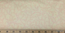 Shabby Chick Fabric Pink Cream Small Floral Quilting Cotton Fabric BTY t1/2