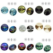 Swarovski Elements 3015 Rivoli Crystal Button
