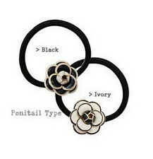 Girls Women Hair Accessories Flower Hair Ties Rope Ring Bands Hairband Ponytail