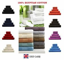 Genuine 100% Egyptian Cotton Face Cloth Guest Hand Towel Gym Bath Towels Sheet