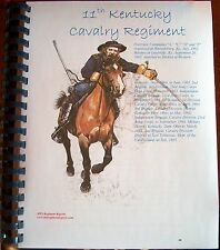 Civil War History of the 11th Kentucky Cavalry Regiment (Union)