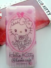 NEW Iphone 6/ 6 Plus Clear Silicone Gel Cute Hello Kitty Case Protector Cover