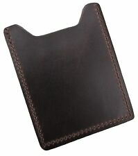 New Mens Leather Front Pocket Money Clip Card Case Wallet USA Made