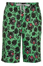 PETER ALEXANDER PJS Mens Tiger Sleep Shorts Sz S/M/L/XL NWT Cotton Drawstring PJ