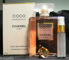 TRAVEL SIZE CHANEL COCO MADEMOISELLE EAU DE PARFUM 0.33 FL. OZ. 10 ML