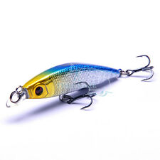 Floating Surface Shallow Water Diving Minnow Jerkbaits Bass Fishing Lures Baits
