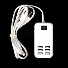 30W 6 / 4 Ports USB Hub Travel Phone Wall Charger Power Adapter EU US UK AU Plug