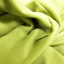 New Quality Tonic Green Velvet Texture Craft Upholstery Cushions Interior Fabric
