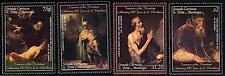 GRENADA-GREN. 2003 HERMITAGE PAINTINGS SC#2507-10 MNH JUDAICA, BIBLE
