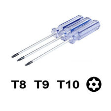 1x Torx T8/T9/T10 Screwdriver Repair Tool for Xbox 360 PS3 Controller |NGB