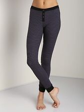 Splendid Loungewear Skinny Stripe Legging Dark Slate