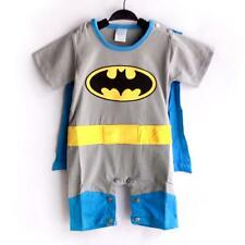 Hero Batman Baby Boy Short Sleeved Bodysuit Jumpsuit Romper Onesie