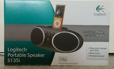 Logitech S135i Portable iPod Speaker Dock -without adapter