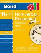 Bond 10 Minute Tests Non-Verbal Reasoning 9-10 yrs by Primrose, Alison