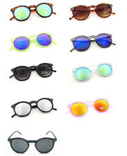 Round Cat Eye Fashion Sunglasses Multi-color Outdoor Vintage Eyeglasses QGE