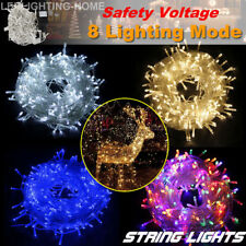 100/200/300/500/1000 LED Fairy String Lights Christmas Tree Xmas Wedding Party