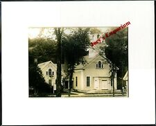 MAINE, WILTON, CONGREGATIONAL CHURCH, MATTED PRINT, C.-1930'S, ITEM# MP-WIL-127