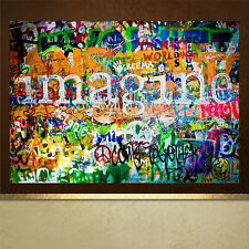 Muro de John Lennon Imagine poster print wall art