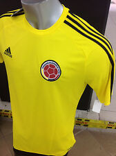 SELECCION COLOMBIA NATIONAL TEAM JERSEY FCF MENS YELLOW JERSEY ADIDAS S16153