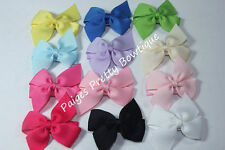 "10 - 1.5"" Mini Pinwheel Hair Bows-Baby Hair Clips-Toddler Hair Clip"
