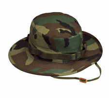 New Rothco 5800 Woodland Camo Military Style Boonie Hat Poly/Cotton