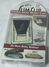 SLIM CLIP DOUBLE SIDED CREDIT CARD HOLDER WALLET AS SEEN ON TV. FREE SHIPPING.