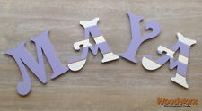 Personalised Wooden Door Letters Bedroom Name Plaque or Toy Box Names #68