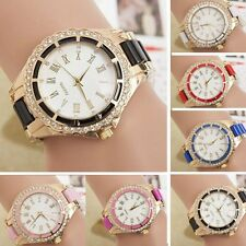 #IAUS Sport Women's Stainless Steel Dial Band Analog Quartz Casual Wrist Watch