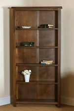 Bookcase Dark Wood Dark Antique Pine Boston Tall Bookcase Low Bookcase Shelving