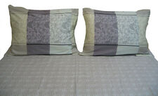 DaDa Bedding Luxe Soft Paisley Floral Fitted Flat Sheets Set & Pillow Cases Sham