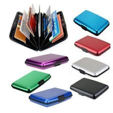 Pocket Waterproof Business ID Credit Card Wallet Holder Case Glossy Box