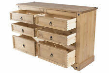 Chest Drawers Corona Mexican Pine Bedroom Furniture With Real Dovetail Drawers