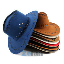 Unisex Cowboy Hat Men Hats Women Ladies Caps Beach Western Headwear Cap Summer