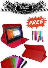 """Universal Leather Stand Case Cover Pouch 7"""",9"""",9.7"""",10"""",10.1"""" Tab Android Tablet"""