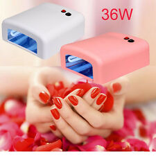 Pro 9W UV Light Bulb 36W/9W Nail Polish Dryer Lamp Gel Acrylic Curing 220-230V