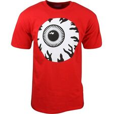 $26 Mishka Men Monochrome Keep Watch Tee red