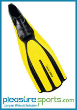 Mares Plana Avanti Tre Full Foot Fin - Yellow