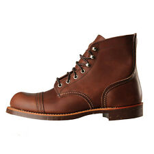 New Mens Red Wing  8111 Boots - Iron Ranger Amber Harness 100% Leather