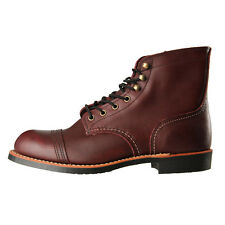 New Mens Red Wing  8119 Boots - Oxblood Mesa Iron Ranger 100% Leather