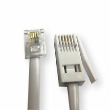 RJ11 TO BT Telephone Modem High Speed Patch Cable Lead Fax Router Phone