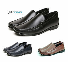 Mens Loafer SlipOn Driving Shoes Casual Smart Moccasin Size 6 7 8 9 10 11 12