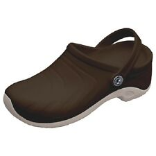 CLOGS Black ZONE Anywear Injected Clog w/Backstrap in Chocolate